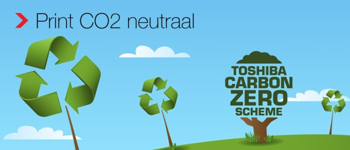 CO2 neutraal toshiba Reprotechniek Kantoorsystemen